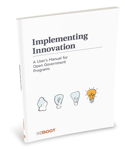 photo of the implementing innovation book